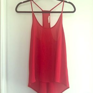 High low red tank
